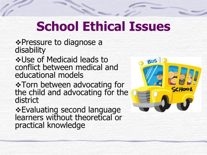 School Ethical Issues