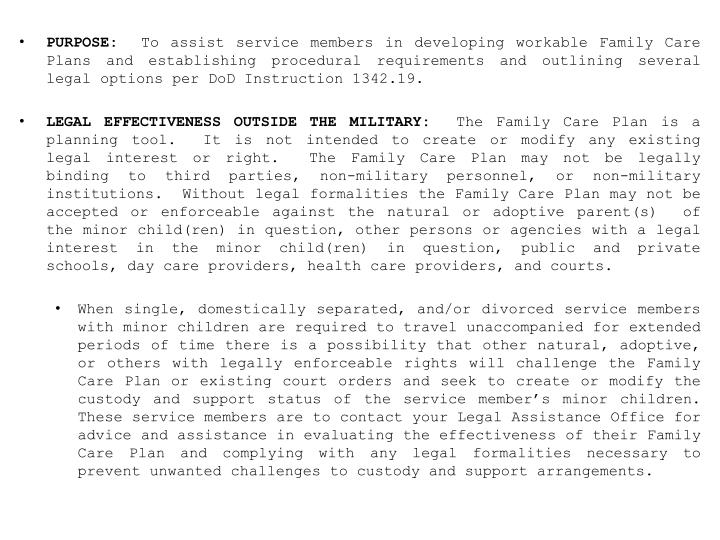 Ppt Opnavinst 17404c U S Navy Family Care Policy Powerpoint