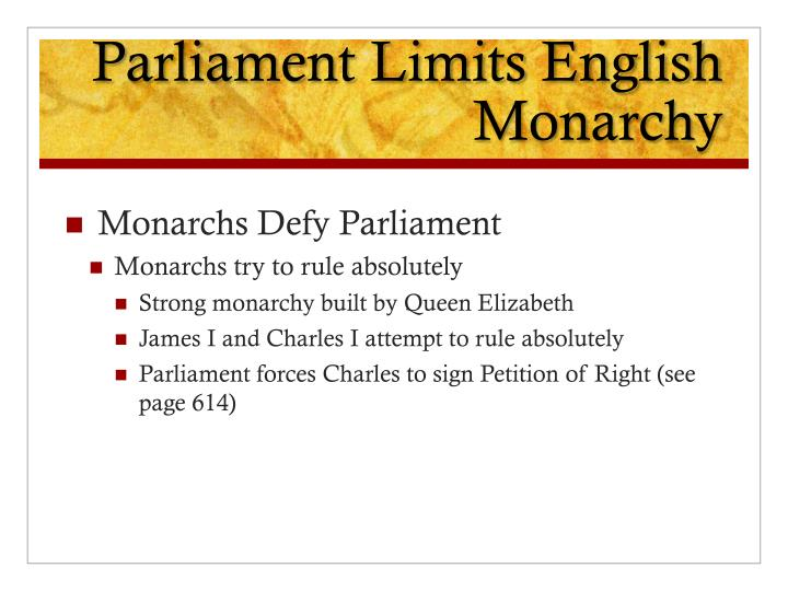 an analysis of the differences of absolute monarch versus the new monarchs The monarchy in its different conceptions and modes, has been the  monarch's  delegates in new spain, peru and subsequently in new granada and in el plata   of spain or of the spains, which makes summary reference to the monarchy's   from being ruled by an absolute monarchy to sovereignty residing in the nation.