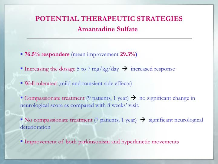 POTENTIAL THERAPEUTIC STRATEGIES