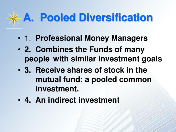 A pooled diversification