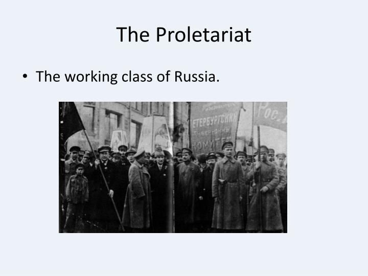 The Proletariat