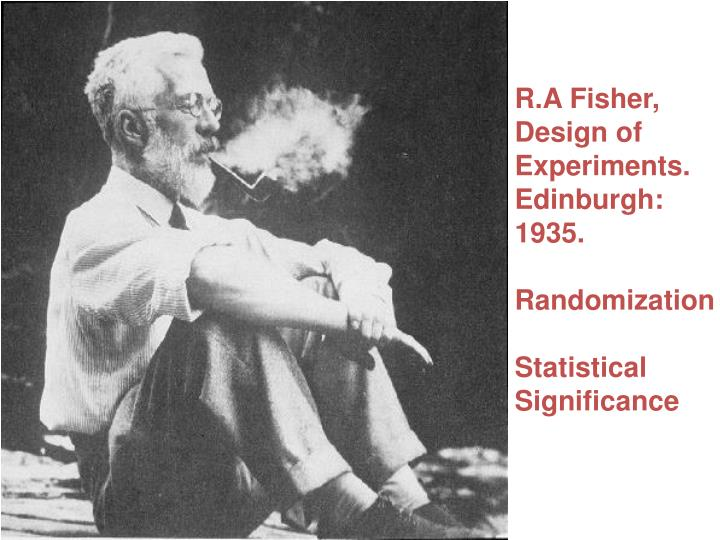 R.A Fisher,