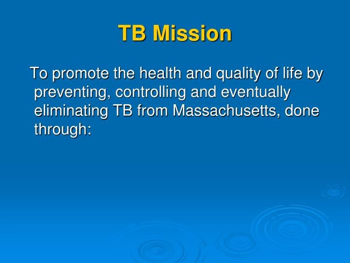 TB Mission