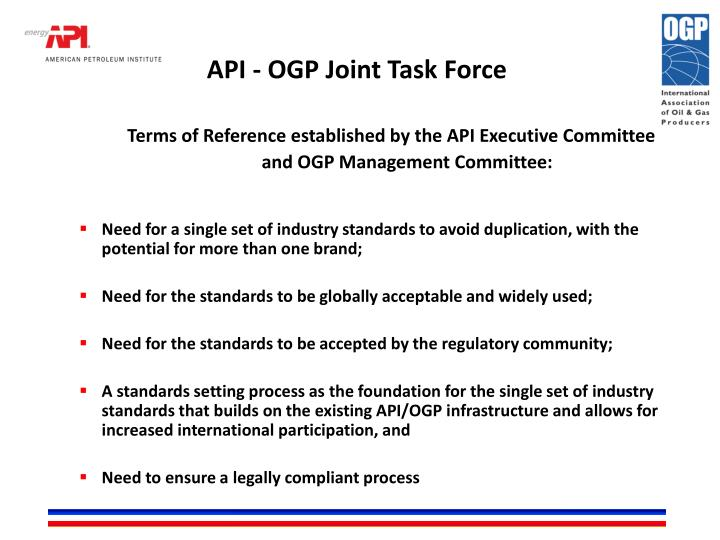 Api ogp joint task force1