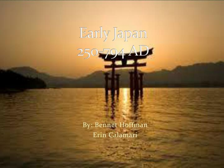 Early japan 250 794 ad