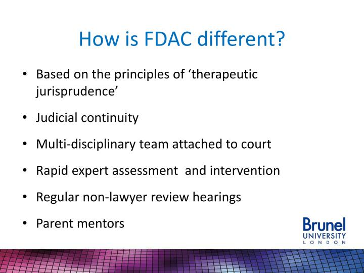 How is FDAC different?