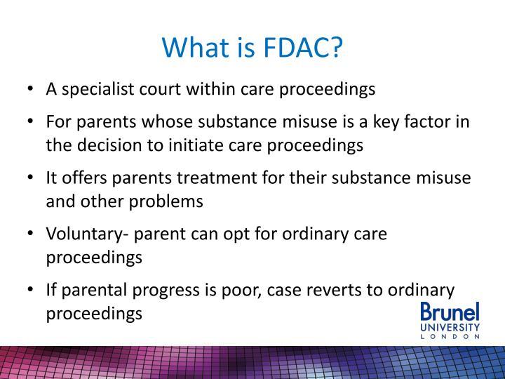 What is fdac