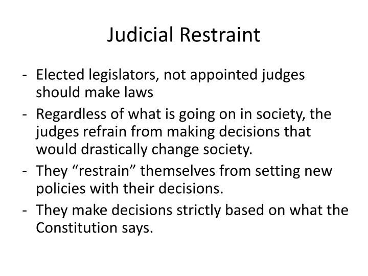 should judges be appointed Should supreme court justices be elected or appointed as seen in the previous examples, supreme court judges are usually appointed , normally by political figures .