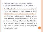 corpus based english for specific academic purposes esap materials4