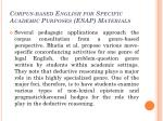 corpus based english for specific academic purposes esap materials5