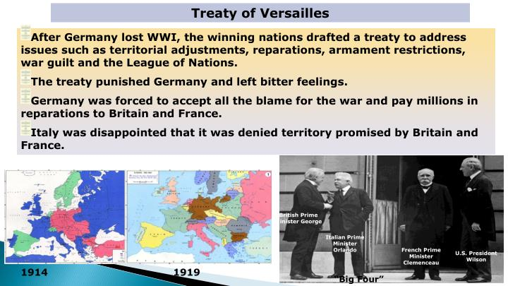essay treaty versailles 'the treaty of versailles was unfair' the treaty of versailles was a condition of terms regarding peace that was presented to germany by the allies in 1919 three reasons why the treaty was unfair was that germany was forced to take all the blame for the war, germany lost 6 million people and 13%.