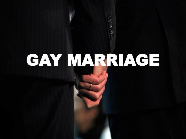 ethical gay marriage argument
