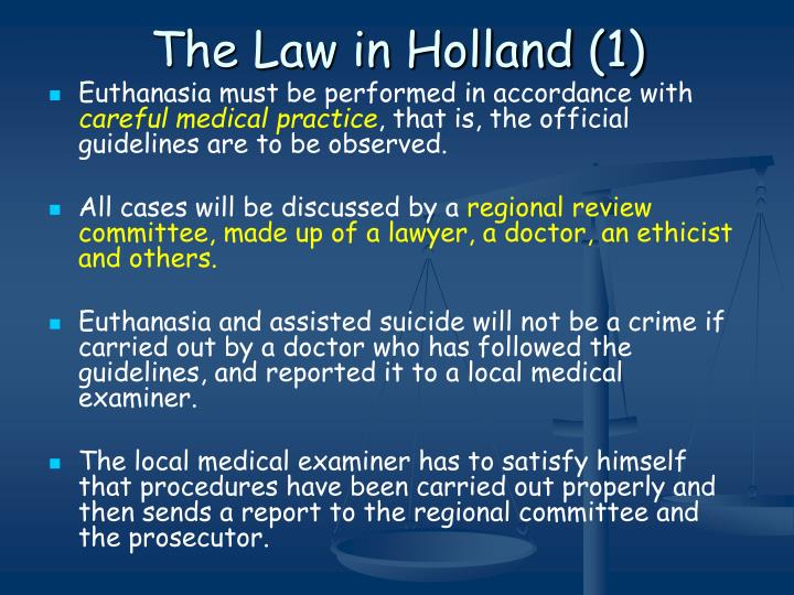 The Law in Holland (1)