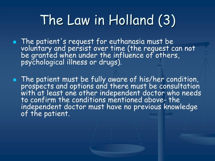 The Law in Holland (3)