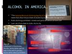 alcohol in america