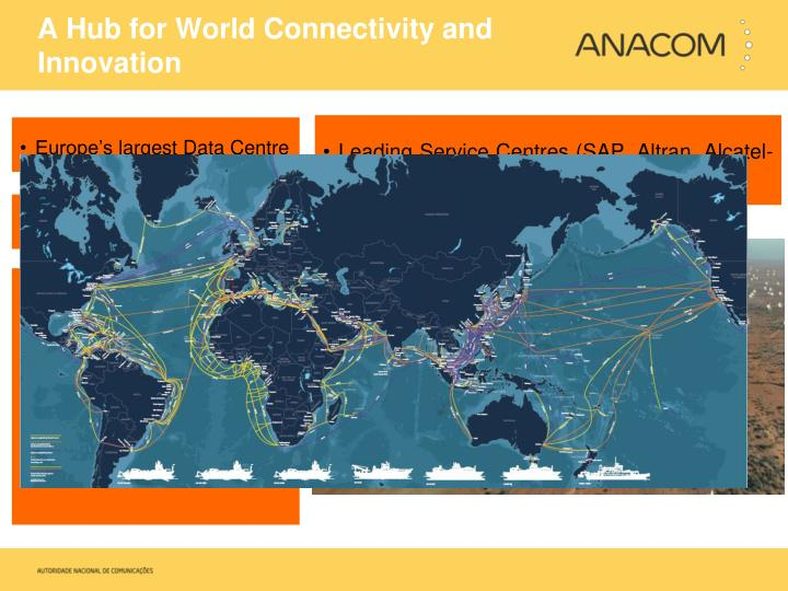A Hub for World Connectivity and Innovation