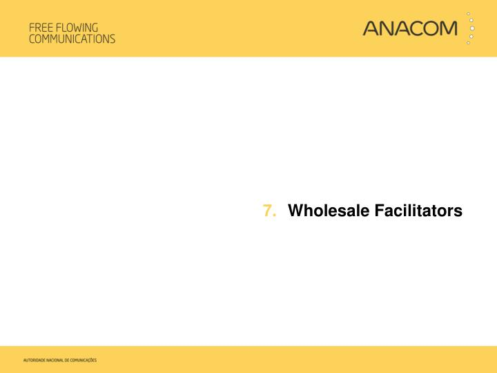 Wholesale Facilitators