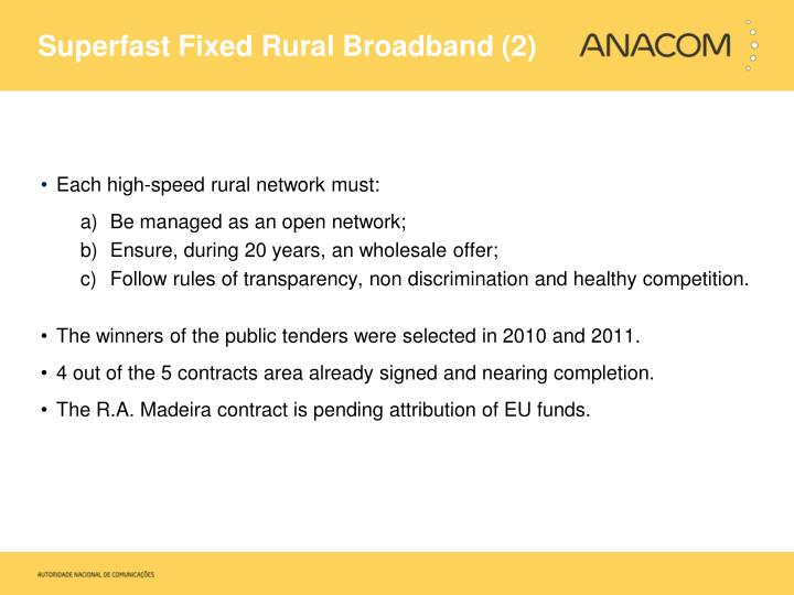 Superfast Fixed Rural Broadband (2)
