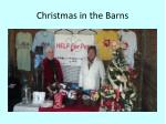 christmas in the barns