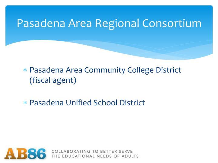Pasadena Area Regional Consortium