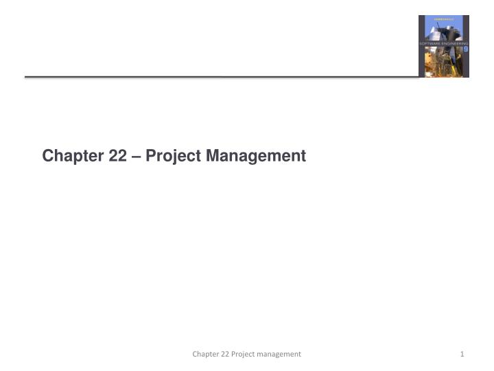 chapter 22 project management n.