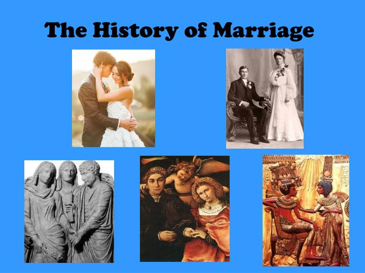 the history of marriage n.