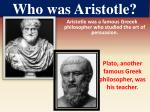 who was aristotle