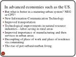in advanced economies such as the us1
