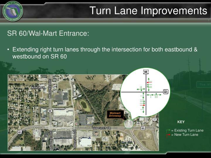 Turn Lane Improvements
