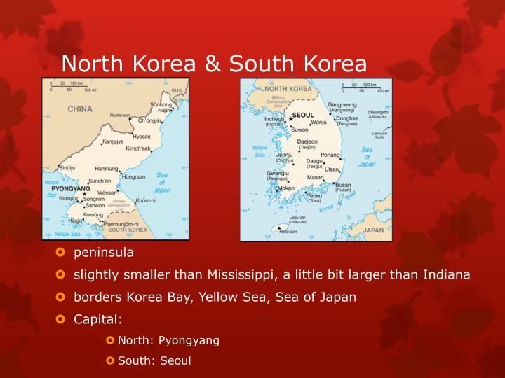 North Korea & South Korea