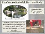 essa salmon festival riverbank derby