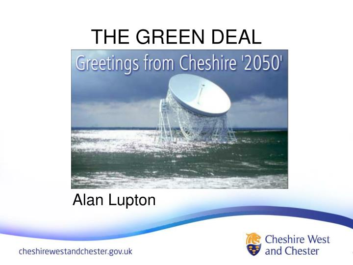 the green deal n.
