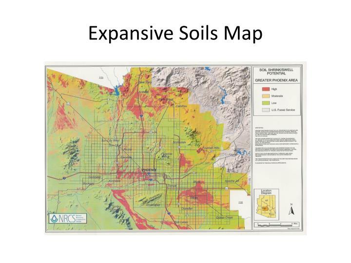 Expansive Soils Map
