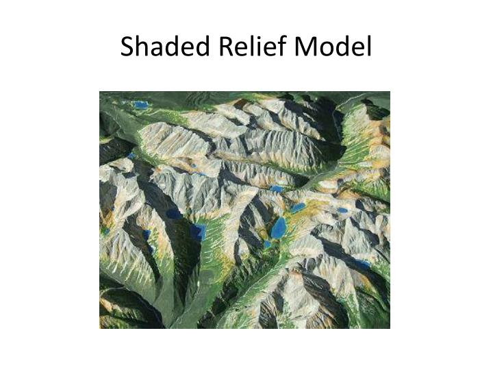 Shaded Relief Model