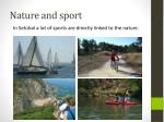 nature and sport