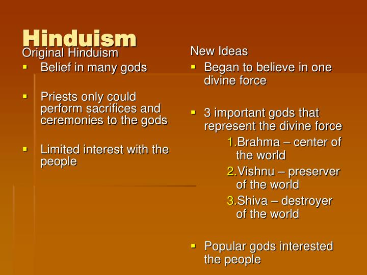 Original Hinduism