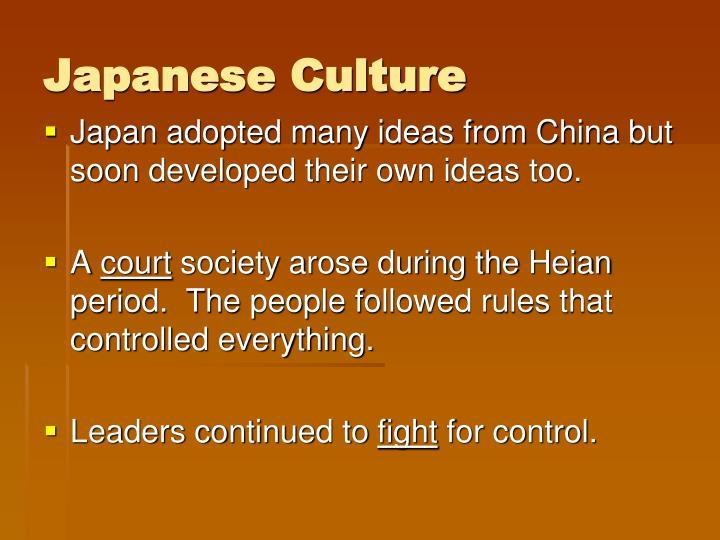 Japanese Culture