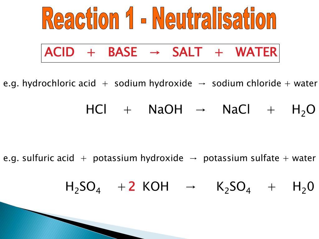 Simple New Yorker: Sulfuric Acid Potassium Hydroxide