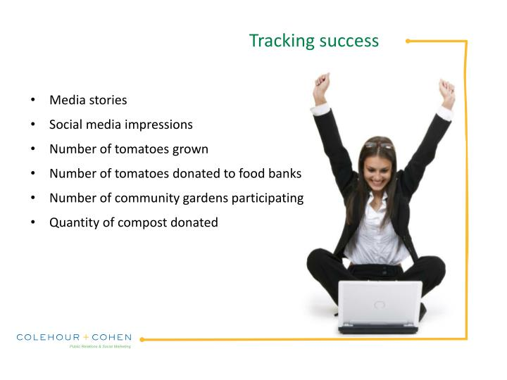 Tracking success