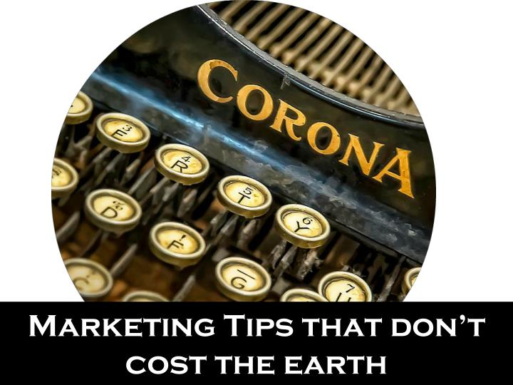 marketing tips that don t cost the earth n.