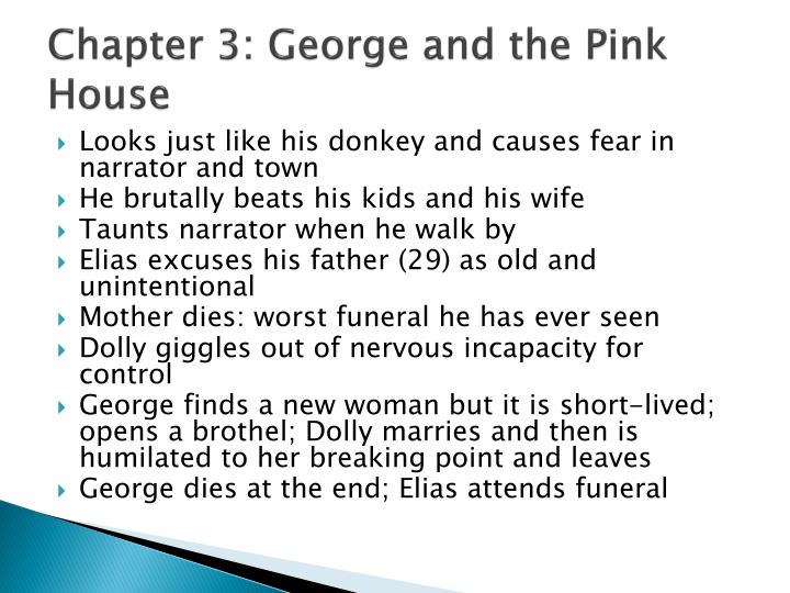 Chapter 3: George and the Pink House