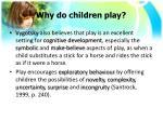 why do children play1