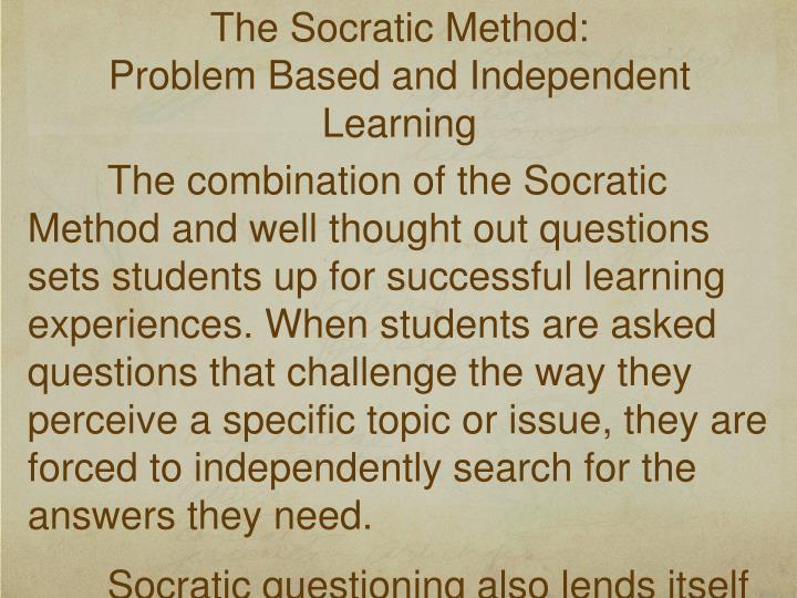 The Socratic Method: