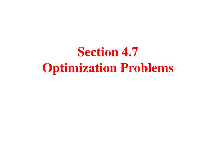 section 4 7 optimization problems n.