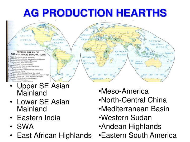 AG PRODUCTION HEARTHS