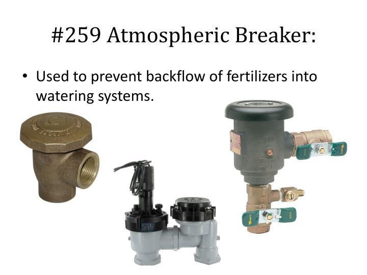 #259 Atmospheric Breaker: