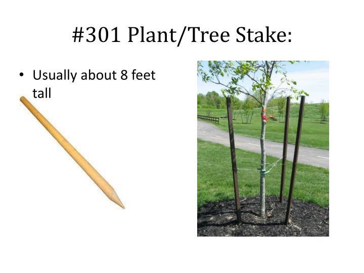 #301 Plant/Tree Stake:
