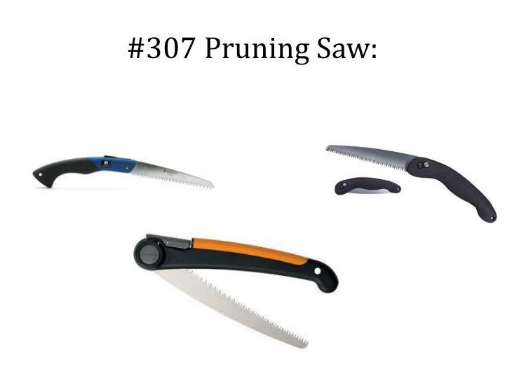 #307 Pruning Saw: