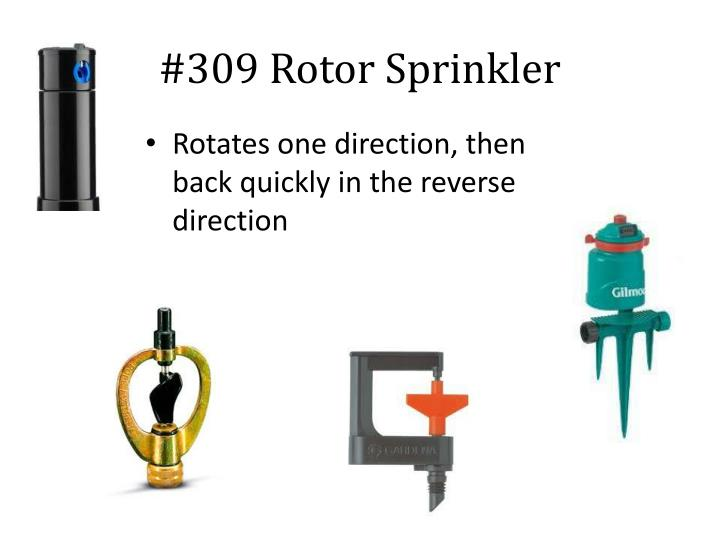 #309 Rotor Sprinkler
